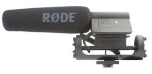 Rode VideoMic Directional Shotgun Microphone 300x146 Rode VideoMic Directional Shotgun Mic w/Mount